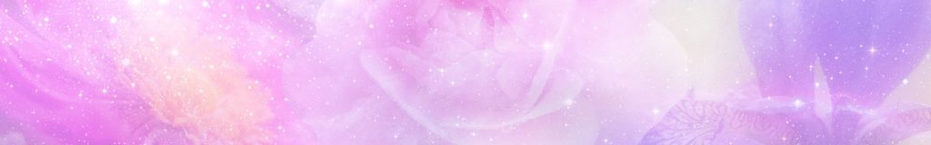 activated collage stars and flowers banner strip