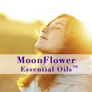 moonflower essential oils breath easy image
