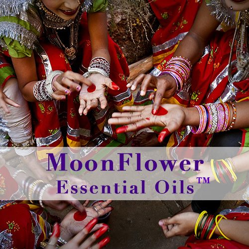 moonflower essential oils fertility plus image