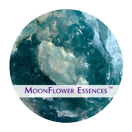 moonflower essence - aquamarine gemstone image