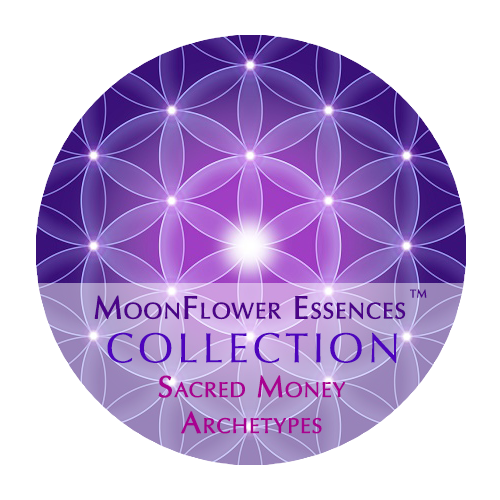 moonflower essences collection - sacred money archetypes