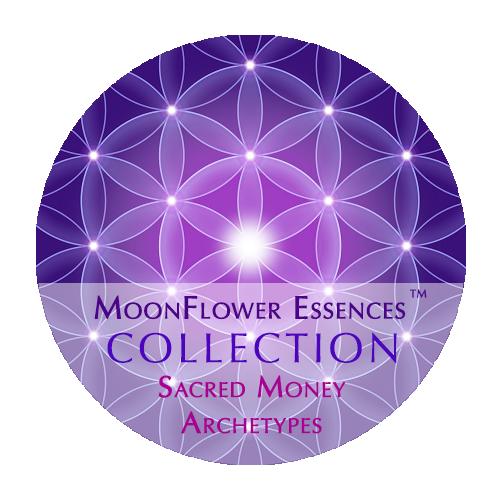 moonflower essences collection - sacred money archetypes