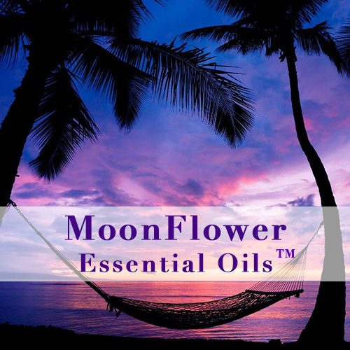 moonflower essential oils relax blend image