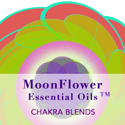 moonflower essential oils - chakra blends