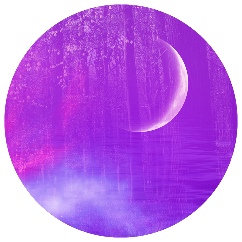 manifesting with the moon graphic