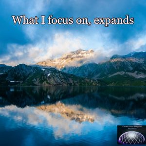 what I focus on expands